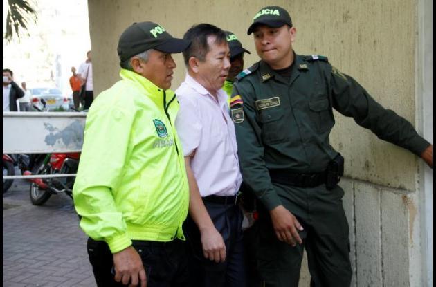 Capitán de buque chino inmovilizado en Cartagena fue capturado y asegurado.