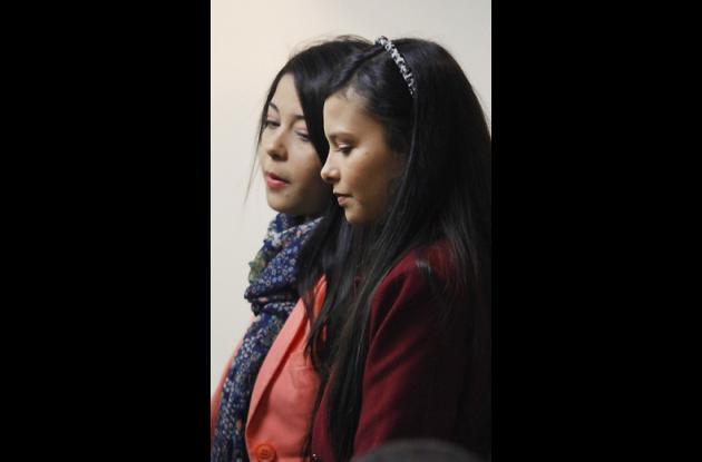 Jessy Quintero y Laura Moreno.