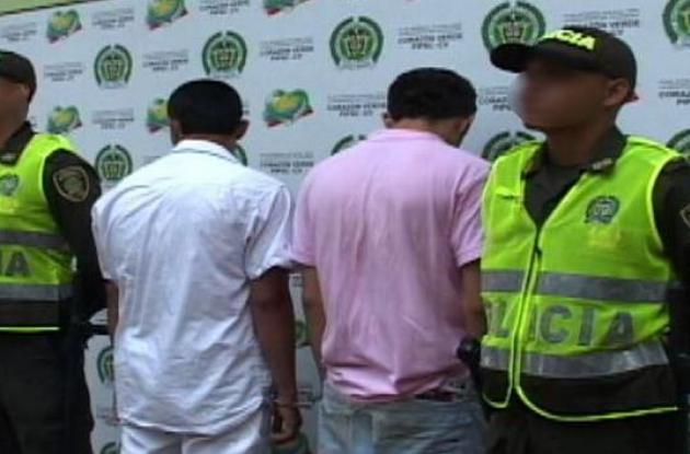 Capturados dos presuntos delincuentes en el centro historico