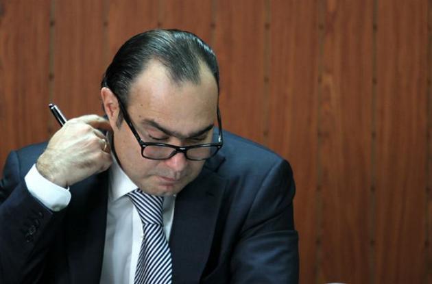 Jorge Pretelt, presidente de la Corte Constitucional.