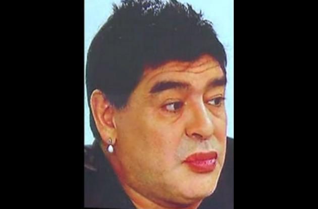Diego Armando Maradona, ex futbolista argentino.