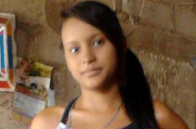 Yuliza García. Menor que habría sido acuchillada en Magangué por pandilleras y luego se ahogó al lanzarse al río Magdalena.