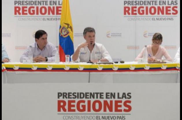 presidente en las regiones