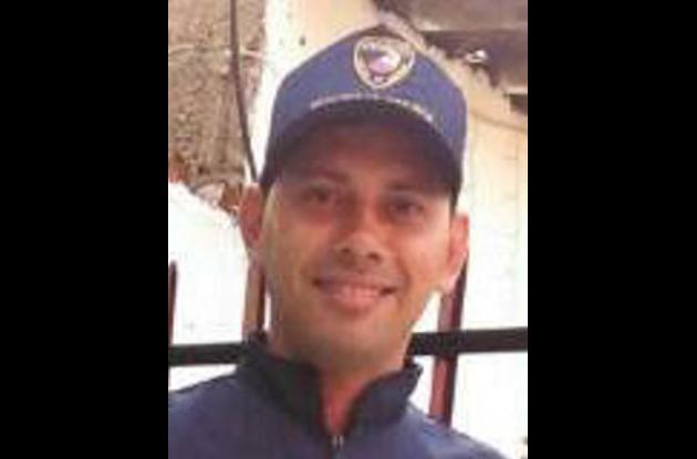 Jairo Castillo, vigilante que murió tras salir herido en choque de motos en la vía a Mamonal.