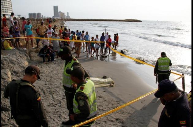 muere menor ahogado en Playas