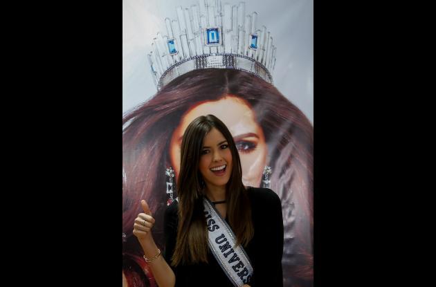 Paulina Vega Dieppa, Miss Universo 2014 - 2015.