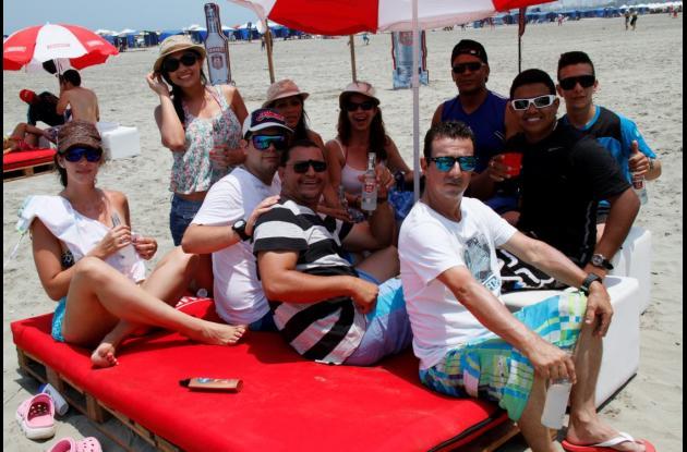 Playa 'santa'