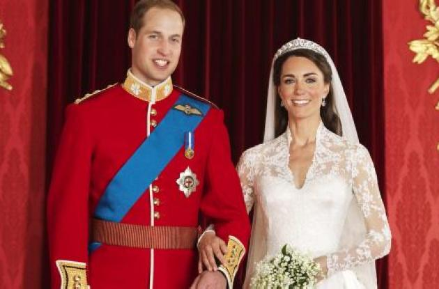 El príncipe Guillermo y la duquesa Catalina.