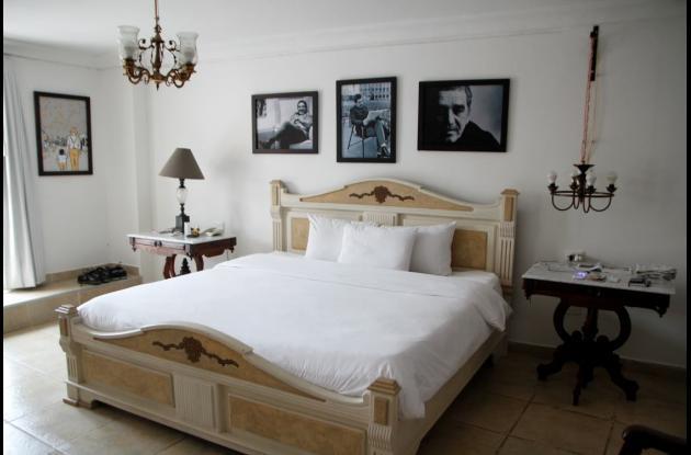 El cuarto de García Márquez.hotel tematico en cartagena Kartaxa