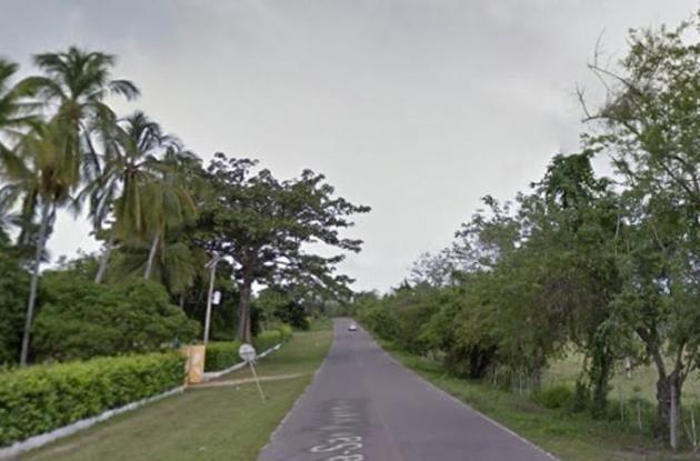 Vía La Línea, San Estanislao de Kostka, Bolívar.