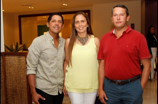 Carlos Holguín, Gloria Madriñán y Rodrigo Trujillo.