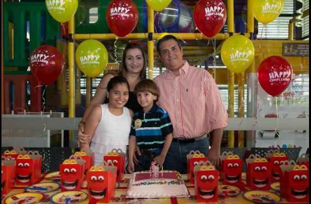 Cumpleaños de David Brochet