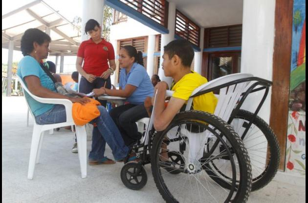 población discapacitada