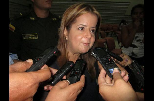Elsa Noguera, alcaldesa de Barranquilla.