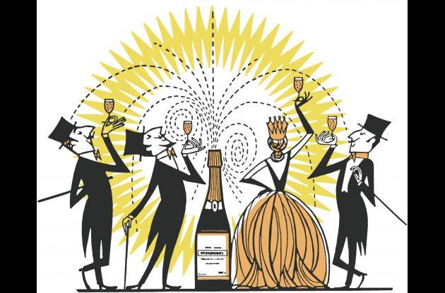 Ilustración sobre el consumo del alcohol