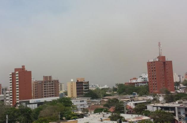 humo en Barranquilla