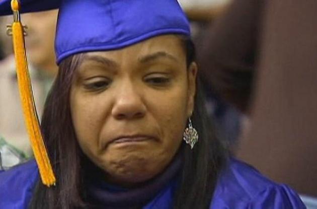 mamá graduación