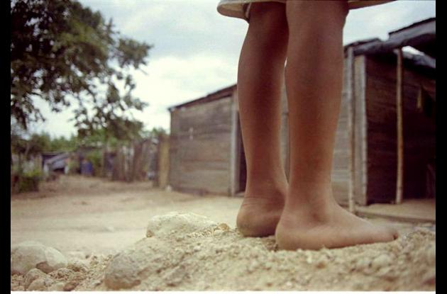 Niños maltratados en Colombia