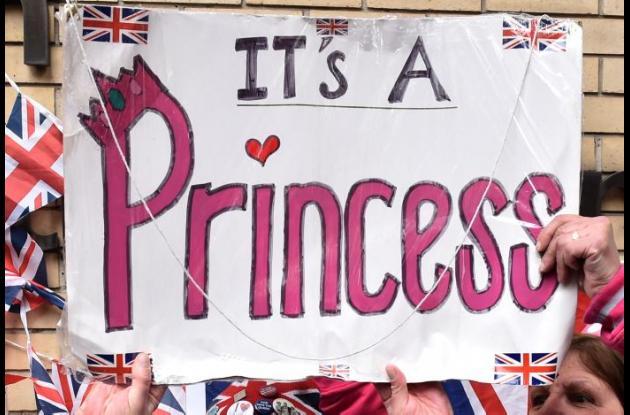 Aún no se conoce el nombre de la princesa. En las casas de apuestas gana