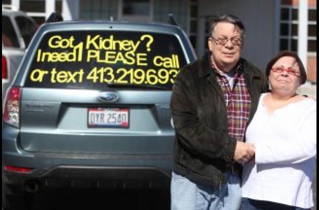 Un hombre necesita trasplante de riñon.