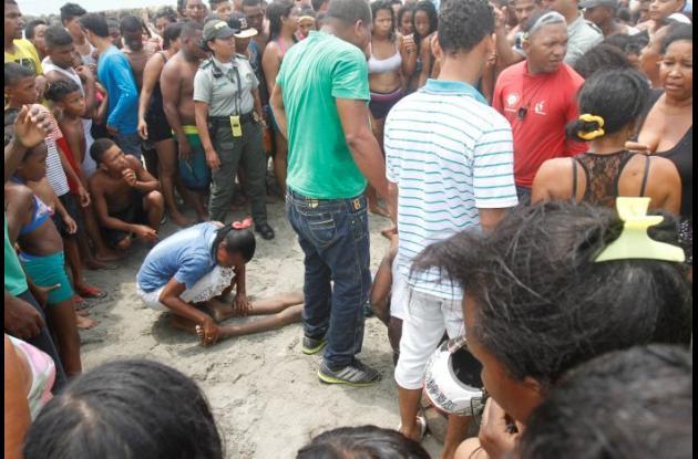 menor ahogado en playas de Cartagena