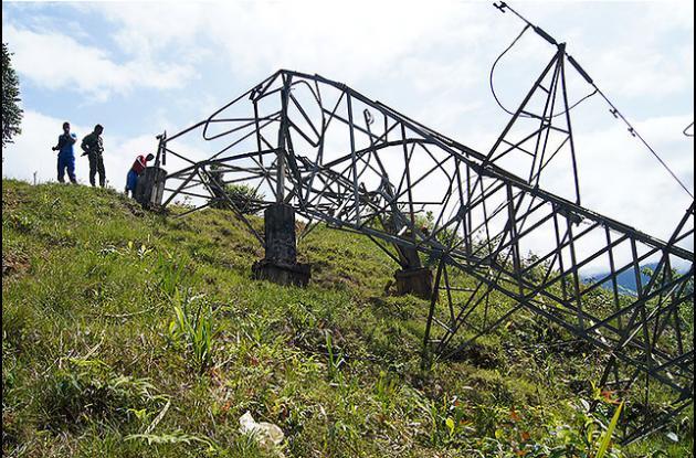 El atentado contra la torre de energía de Epsa que ocasionó apagón en Buenaventura dejó pérdidas superiores a los $600 millones en un día.
