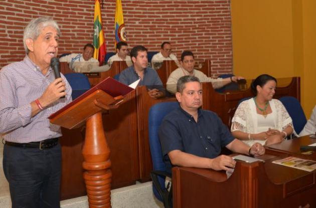 segundo período de sesiones en el Concejo de Cartagena