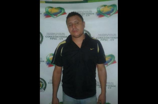 Eider Ortega Donado. Capturado por crimen de Rafael Ortiz en Los Jardines.