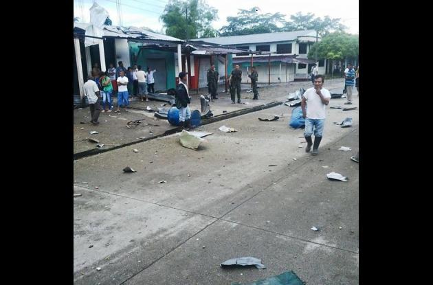 Farc atacó con explosivos la estación de Policía del Tigre, Putumayo.