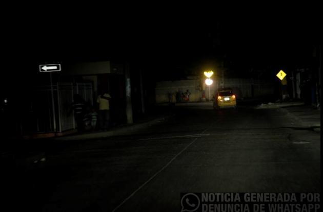 falta de luz energia