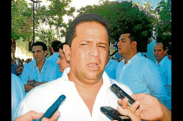 Francisco Padilla, alcalde del municipio de Cereté.