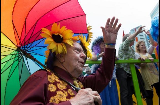 Desfile de gays en Estados Unidos.