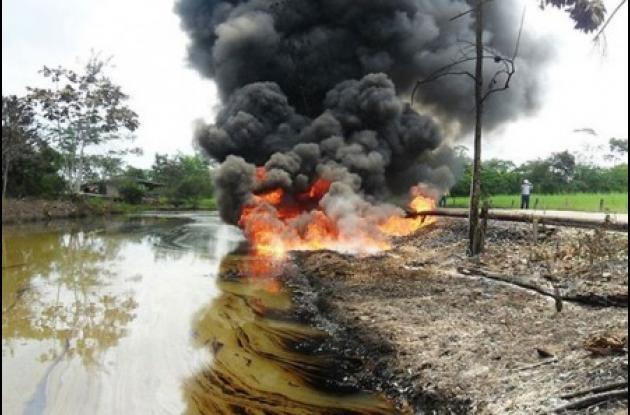 Continúan los ataques de las Farc a la infraestructura petrolera en Putumayo.