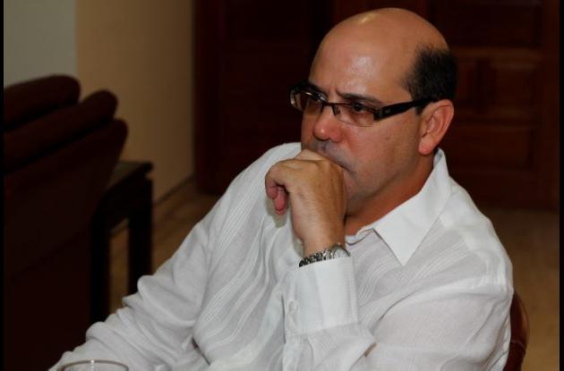 Iván Martínez, viceministro de infraetructura.