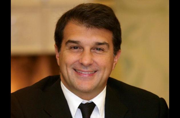Joan Laporta candidato a la presidencia del Barcelona.