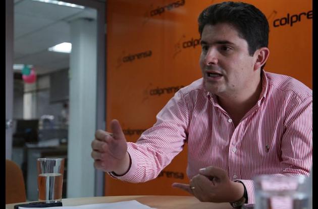 Luis Felipe Henao, ministro de Vivienda.