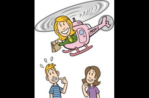 """Hoy en día para criar a los hijos hay que ser """"papás helicópteros""""."""