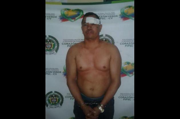 Manuel Ortega Donado. Capturado por crimen de Rafael Ortiz en Los Jardines.