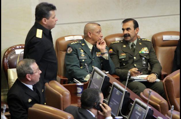 Debate la reforma al Fuero Penal Militar.