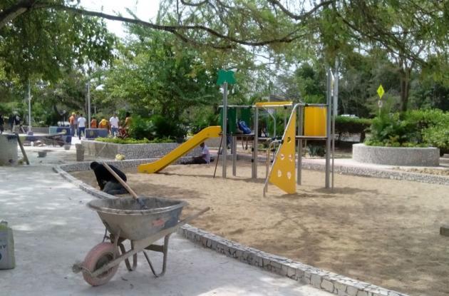 parque cangrejo azul