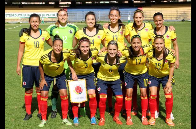 Selección Colombia de fútbol femenino.