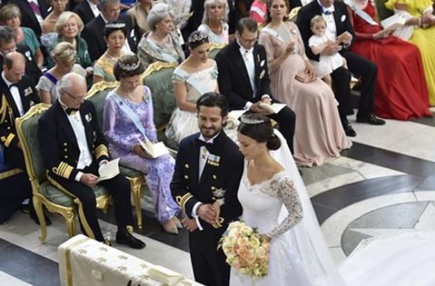 Príncipe Carlos Felipe y Sofía Hellqvist.