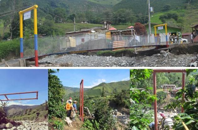 Reconstrucción en Salgar, Antioquia.