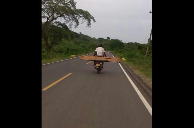 motocicleta montes de maria - carmen de bolivar