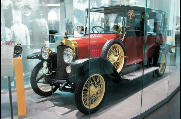 Audi 14/35 PS -Tipo C Limusina con 35 HP.