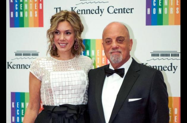 Billy Joel y Alexis Roderick.