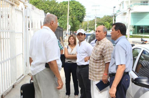 El Secretario de Infraestructura visitó las obras en compañía de Julio Romero.