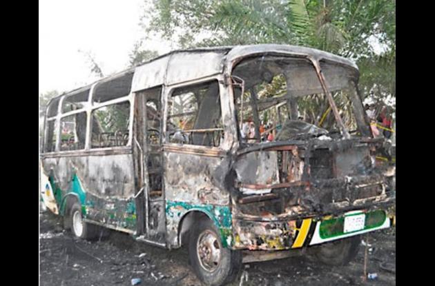 En la tragedia murieron 33 niños y un adulto tras incendiarse el bus en el que viajaban.