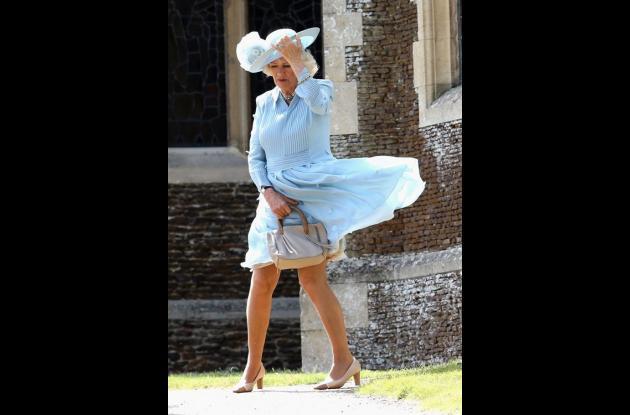 Camila, duquesa de Cornwall.