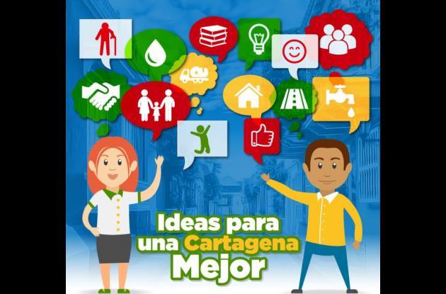 Las mejores ideas que sean escogidas a través de este programa podrán hacerse realidad con el apoyo de la Cámara de Comercio y la Alcaldía de Cartagena.